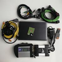 Automotivo 수리 진단 도구 스캐너 사용 랩톱 컴퓨터 E6420 I5 4G + MB 스타 C4 SD 연결 4 + WIF icom 다음 A + B + C 용 BMW + 1TB HDD