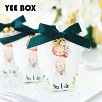 100pieces lot Sweet Wedding Gift Boxes Paper Chocolate Sugar...