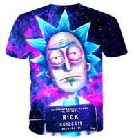2019 Classic Anime Rick And Morty MenWomen camiseta Trippy Psychedelic T-shirt Hombres Hip Hop Anime Cartoon Ricky Morty Hombre Tops S-XXXXXXL U214