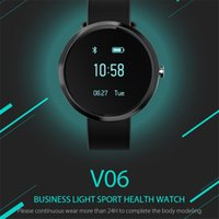 V06 Smart Watch Blood Pressure Heart Rate Step Count Monitor...