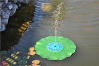 7 v Energía solar Bomba de agua de manantial Kit de paneles Fuente Piscina Jardín Estanque Sumergible Pantalla de riego Energía solar Auto-resorte DHL libre