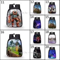 20 Style kids Game Fortnite Battle Royale School Bag 3D patt...