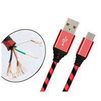 빠른 고품질 0.25M 1m 2m 3m 마이크로 USB 충전기 데이터 케이블 브레이드 코드 케이블을 충전