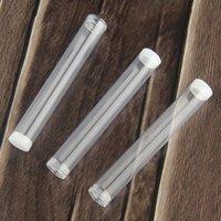 Cartucce del pacchetto della penna vape vuota Imballaggio di plastica Traspare il tubo trasparente per .3 .4 .5 .6 1ml tubi di sigaretta