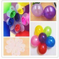10 шт. воздушный шар клип воздушный шар фиксированной украсить супер Хью номер письмо милый водородный воздушный шар зажим папка день рождения