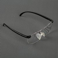 Venta al por mayor gafas de visión lupa gafas de lectura gafas de aumento regalo portátil para los padres factor de aumento presbicia 160%