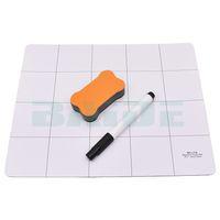 3 in 1 25 * 20 cm Progetto Magnetico Mat Magnete Vite di Lavoro con Pennarello + Gomma per Strumenti di Riparazione Tablet PC portatile 120 set