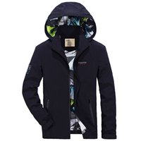 Casual jacket mens waterprood windbreaker jacket men coats c...