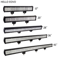 HELLO EOVO 17 20 28 36 43 inch LED Work Light Bar for Indica...