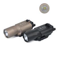 전술 X300 X300U 매우 높은 출력 LED 500 루멘 손전등 토치
