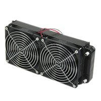 2 x 120 fan 240MM Aluminum Computer Cooler Small Cooling Fan...