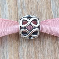 Authentic 925 Sterling Silver Beads Infinite Shine Fits Euro...