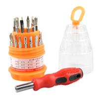 Jeu d'outils pour tournevis multifonction 31-en-1 avec boîte de rangement