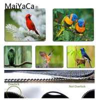 MaiYaCa Top Quality Colorful Birds Office Mice Gamer Soft Mo...