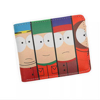 Anime Cartoon Wallet South Park Monedero Hombres Mujeres Carteras y Monederos con Portatarjetas Monedero
