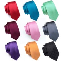 50 styles solid color silk men's tie design set handkerchief and cufflinks Jacquard Woven Wholesale Necktie Men's Tie Set Hanky Cufflinks