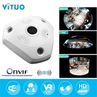 HD 960P Wifi VR Panoramic Camera 360 Degree CCTV Security Vi...