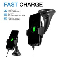 Fast Charger Wireless Car Charger Qi Standard Charger Vehicl...