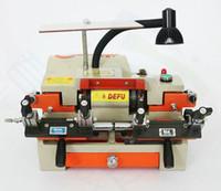 Machine de coupe de clé 100E1 180W 110V ou 220V avec la machine de double duplication de mandrin pour la fabrication de clés serruriers outils LLFA