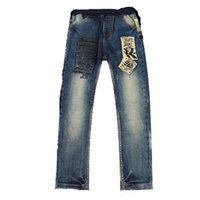 Fashion Boys Kids Jeans 3- 14 Years Old Spring Autumn 2017 Ne...
