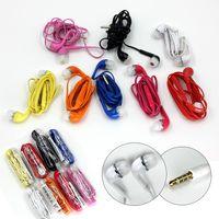 Colorido Auriculares J5 de 3.5 mm con micrófono Control de volumen Auriculares Auriculares S6 S7 Auriculares Auriculares Auriculares universales para Samsung