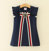 Wholesale Children Clothing Baby Girls Sleeveless Princess D...
