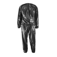 Fitness Waterproof PVC Sweat Sauna Suits Heavy Duty Weight L...