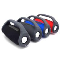 Altavoz Bluetooth de Boombox 3D HIFI Subwoofer Handwoofers estereos portátiles al aire libre con caja de venta