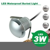 Mini LED Waterproof Buried Light 3W DC12V Spotlight Wall lig...