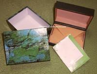 الشحن الأخضر ووتش الأصلي مربع أوراق بطاقة محفظة هدية صناديق حقيبة يد 185 ملليمتر * 134 ملليمتر * 84 ملليمتر 116610 116660 116660 118239 116500 المصنع