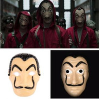 New Cosplay Mask La Casa De Papel Horror Face Masks Salvador...