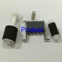 새로운 ADF 용지 픽업 롤러 + 분리 패드 + HP LJ1213 용 패드 1212 1216 프린터 ADF 픽업 롤러 및 분리 패드 Prideal