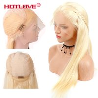 13*4 Swiss Lace Front Human Hair Wigs With Light Brown Lace ...