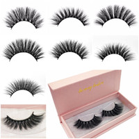 Hot 7 Styles Mink Lashes 3d Mink Eyelashes Natural Long Fals...