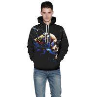 2020 Пара Толстовка 3D цифровой печати Толстовки Пот Holloween Бейсбол Спорт Coats свитер Бесплатная доставка