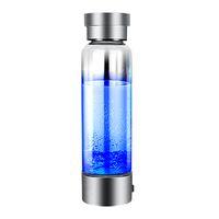 Top Портативный генератор водорода ионизатор для Pure H2 Рич Водород воды Бутылка Электролиз Hidrogen 350мл Напиток бутылки