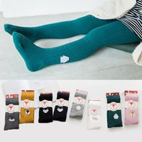 Ins Children pantihose Tights Leggings Cute Embroidery Fox P...