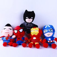 2018 new high quality Avenger League doll Superman Spiderman...