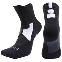 Professional anti odor medium tube basketball socks, men...