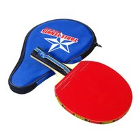 Long Handle Shake- hand Table Tennis RacketPong Paddle + Wate...