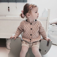 2018 New INS Kid Knit Cardigan Sweaters Boutique Baby Boys G...