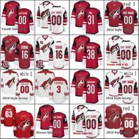새로운 시즌 14 리차드 파닉 75 카일 Capobianco 애리조나 코요테 6 제이콥 치천 (44 개) 케빈 코 노턴 (55 개) 제이슨 데 머스 하키 유니폼