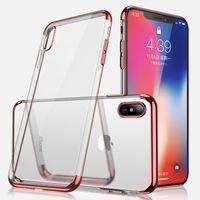 Luksusowy 3 w 1 Soft TPU Case Case dla iPhone 11 Pro Max XR XS X 8 7 6 Samsung S6 S7 Edge S8 S9 Plus S10 5G S10E Note 9 10+