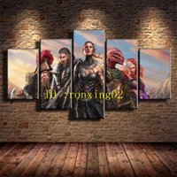 Divinity Original Sin Ii, 5 Pieces Home Decor HD Printed Mode...