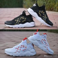 SUP 2018 Air Huarache 4. 0 Classical White Black Men Women Hu...
