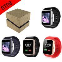 GT08 Smart Watch DZ09 Armband Bluetooth Armband Mit Schrittzähler Kamera Überwachung Schlaf Sitzende Erinnerung Kompatibel Plattform Android IOS