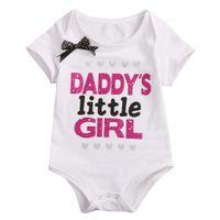 Enfant nouveau-né bébé Tout-petit bébé Mode Unisexe Coton Blend Romper Jumpsuit Vêtements enfants Outfit