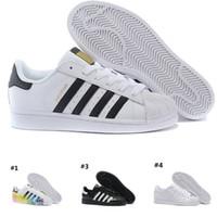 newest a62b2 5d097 Discount running shoes Adidas Superstar smith NUEVO DISEÑO para mujer  zapatos de la superestrella zapatillas de deporte zapatos para caminar  Casual mujer ...
