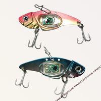 Señuelos de pesca LED de color mixto Señuelos de pesca Cebo conjunto biónico con gancho aparejos de pesca para el pescador