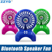 ZZYD Bluetooth Speaeker Fan Portable Wireless Speakers TF ca...